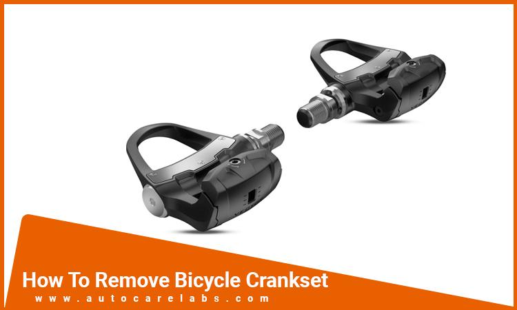 How To Remove Bicycle Crankset
