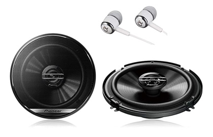Pioneer-TS-G1620F-Coaxial-Full-Range-Car-Audio-Stereo-Speakers
