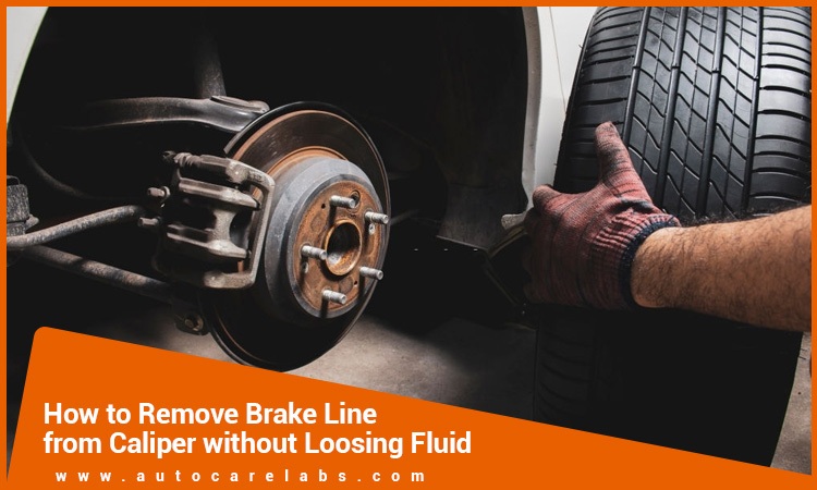 How-To-Remove-Brake-Line-From-Caliper-Without-Losing-Fluid