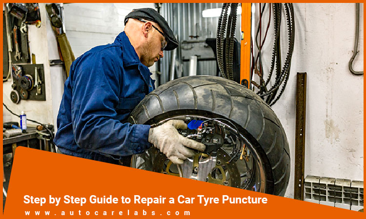 Repair a Car Tyre Puncture