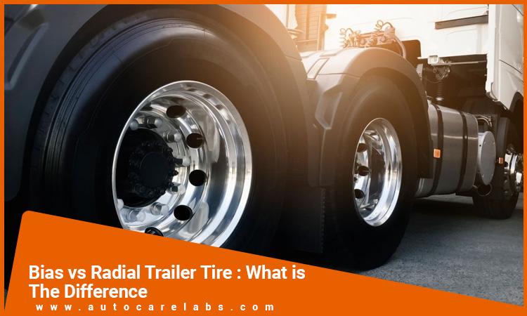 Bias vs radial trailer tire